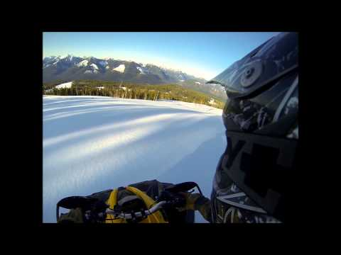 Renegade 1000 Xxc and 800 Unreal Spring Snow Ride