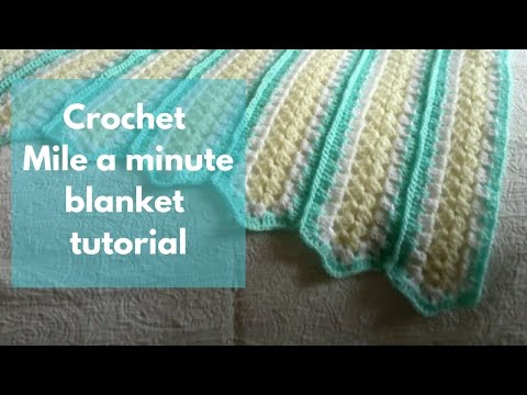 Mile a Minute Crochet Tutorial - YouTube