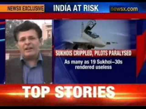 India's elite jet fighters Sukhoi-30s in dire straits