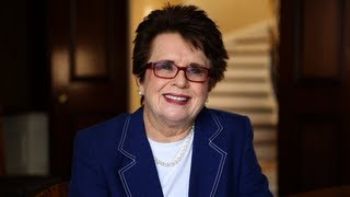 Obama Pride: Billie Jean King