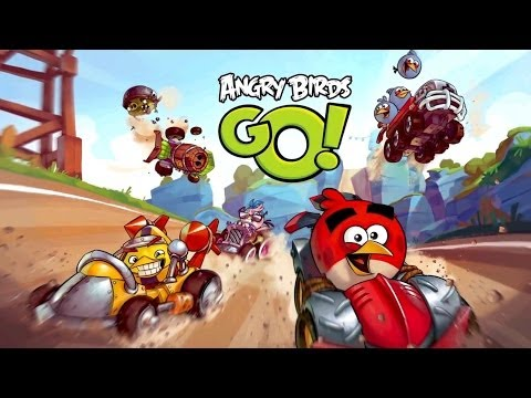 ANGRY BIRDS GO Mobile Game Trailer,