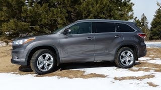 2014 Toyota Highlander Off-Road Review: Colorado Muddy
