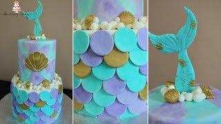 Mermaid Cake Tutorial!