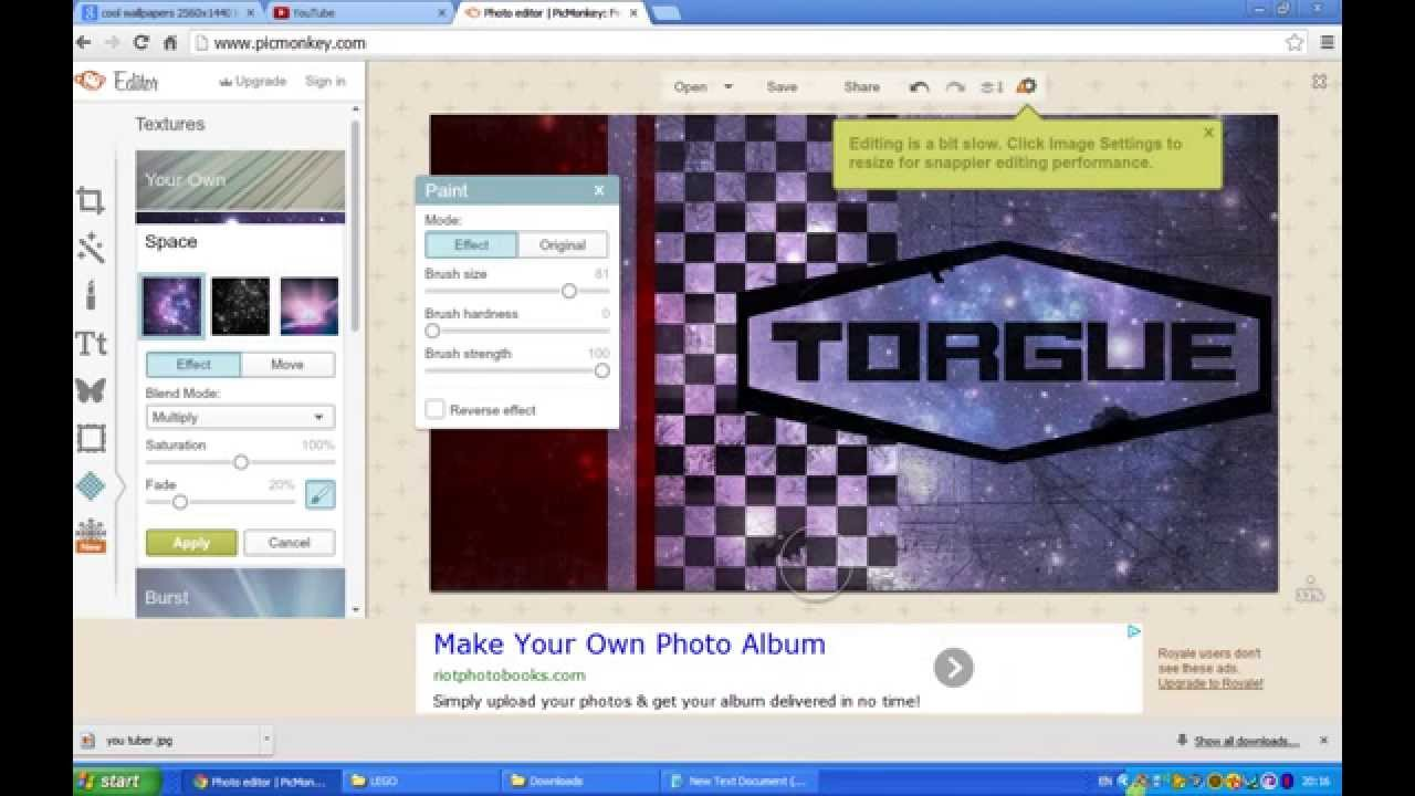 How to create youtube channel art 2014 new and easy steps