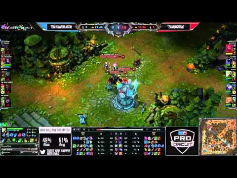 Team Solomid (TSM) vs Dignitas (DIG) || MLG Anaheim NA LCS Summer 2013 W3D1 || Full Game HD