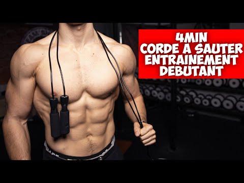 4min corde à sauter débutant entrainement !