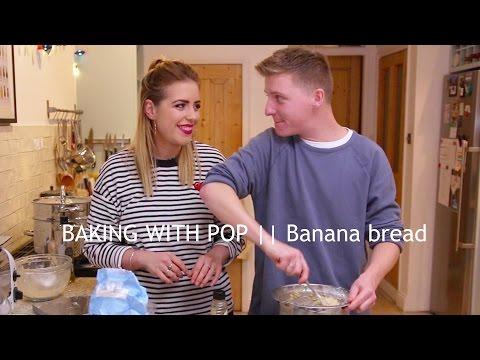 BAKING WITH POP || BANANA BREAD