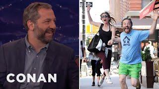 How Judd Apatow Handles Paparazzi  - CONAN on TBS