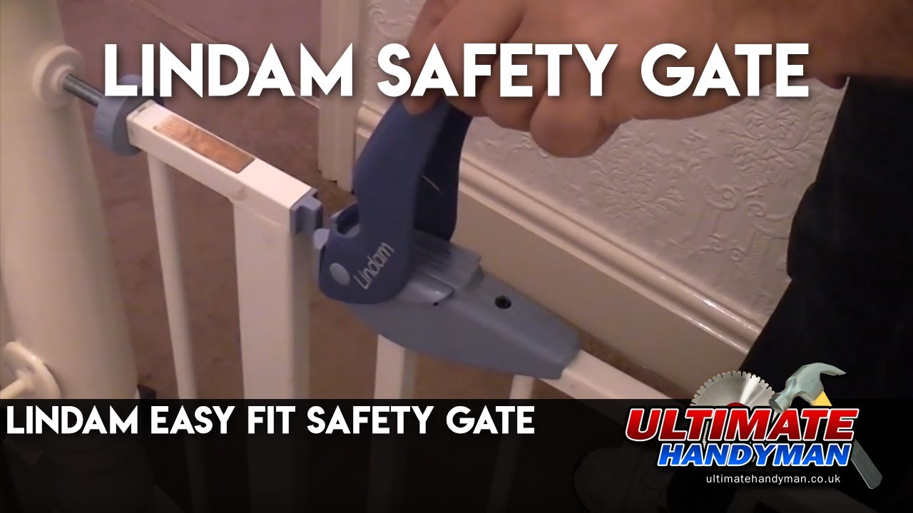 lindam safety gate instructions