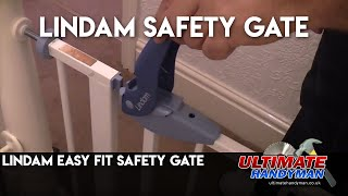 Lindam safety gate installation