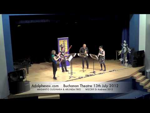 WSCXVI MASAHITO SUGIHARA & ARUNDA TRIO   The Nutcracker Overture