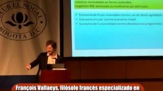 Conferencia François Vallaeys, 'Virtud, Justicia, Sostenibilidad: Una ética en 3D para la RSE'