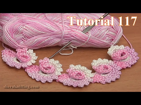 How to Make  Crochet Spiral Cord Tutorial 117
