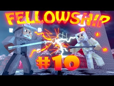 "Minecraft | LORD OF THE RINGS FELLOWSHIP - Ep 10 ""MORDOR IS ALIVE"", aaaaaaaaaaaaaaa"