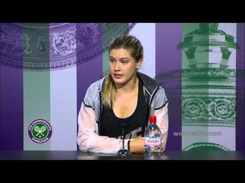 Eugenie Bouchard: 'she played unbelievable' - Wimbledon 2014