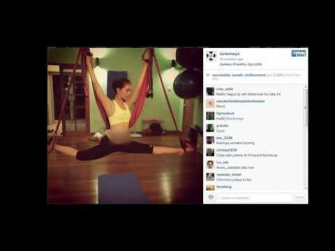 Entertainment News - Selebriti yang mengikuti Pilates