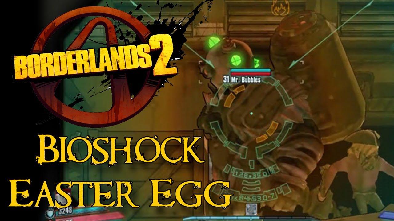 Borderlands 2 easter eggs how to find bioshock easter egg