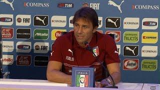 """Conte: """"Pochi italiani in Serie A non facilitano il mio compito"""" - 1 Settembre 2014"""
