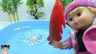 CreativeKids BÉ BÚN - Búp bê câu cá ngày hè