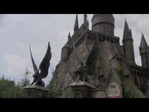 Hogwarts Harry Potter and the Forbidden Journey Ride at Wizarding World of Harry Potter