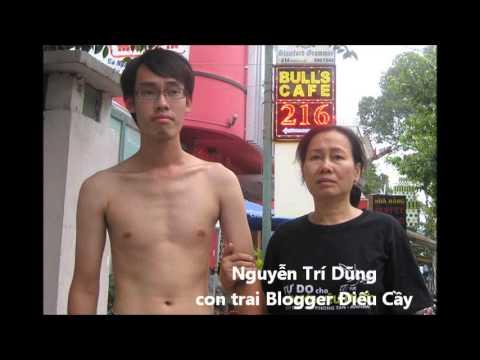 Khí khái Nguyễn Trí Dũng con trai Blogger Điếu Cầy Nguyễn Văn Hải..