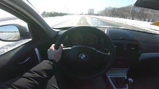 2010 BMW X3 xDrive 20d (177) POV Test Drive. MegaRetr