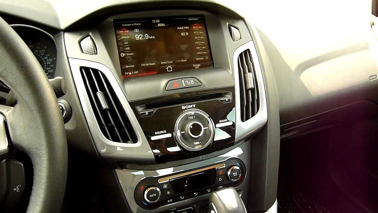 2014 ford focus aftermarket radio