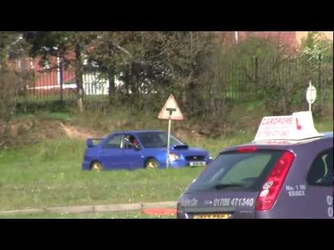 12 year old driving 330bhp Subaru impreza wrx sti