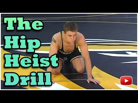 Tiger Style Wrestling Drills - The Hip Heist Drill - Coach Brian Smith (University of Missouri)