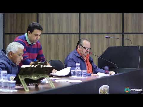 Sessão Ordinária da Câmara Municipal do dia 23 de Outubro de 2017