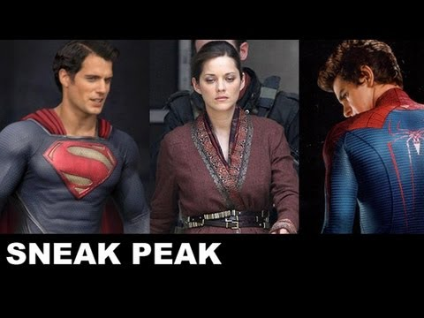 Man of Steel 2013, Dark Knight Rises 2012, Amazing Spider-Man 2012: Beyond The Trailer