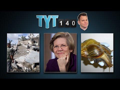 Gaza Rockets, Immigrant Kids, Warren the Superstar & Giant Snail Seizure | TYT140 (July 15, 2014)