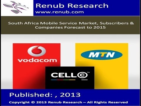 South Africa Mobile Service Market, Subscribers & Companies Forecast to 2015(www.renub.com)