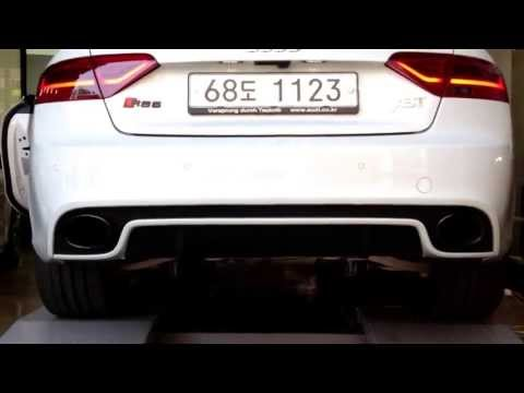 AUDI RS5('13) OEM EXHAUST SOUND
