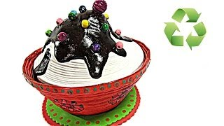 Como hacer cajitas cupcakes