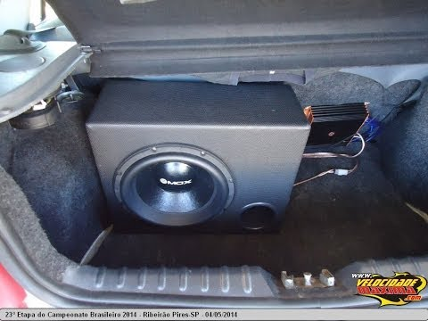 Som de Qualidade VW Gol G4 - Audiophonic Quantum Audio Bravox MOX