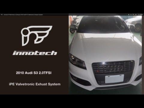 IPE Innotech Exhaust iPE Audi S3 2010>