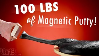 100 Lbs (45 Kg) Of Magnetic Putty