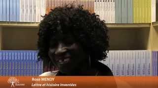 Rose Mendy - auteure de Lettre et histoire inventées