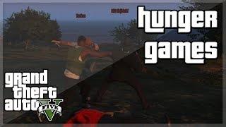 """GTA V - """"HUNGER GAMES!'' w/ Behzinga, Miniminter, Vikkstar, Zerkaa & KSI"""
