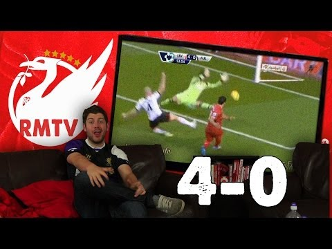 Liverpool 4-0 Fulham: Stevie and Suarez Floor Fulham (Uncensored Match Reaction Show)