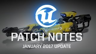 Unreal Tournament - Patch Notes January 2017