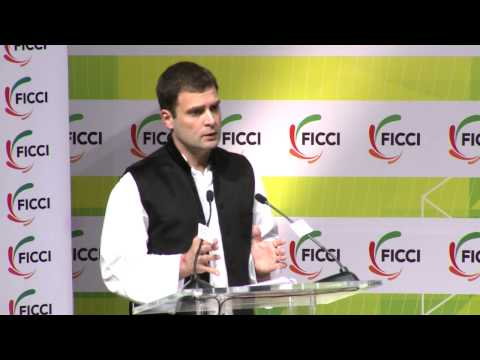 Rahul Gandhi talks about Congress party providing a framework to fight corruption