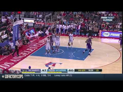 2014.04.12 - Chris Paul, Blake Griffin & DeAndre Jordan Full Combined Highlights vs Kings