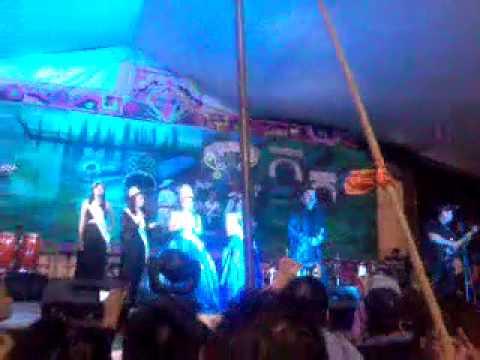 Voy a Pintar Un Corazon - Los Acosta Feria de Tlahuac 2014