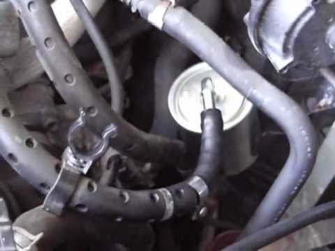 How To Replace Fuel Filter on Nissan Altima 2001 - YouTube