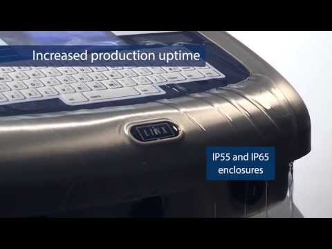 Linx 7900 Continuous Ink Jet Printer Video