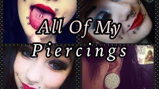 All Of My Piercings 30+ (Jan 2014) Lilithas Bones