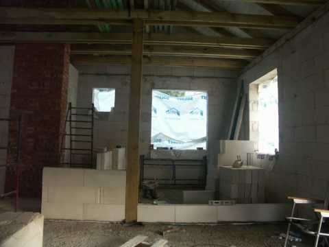 Murowanie ścianki działowej