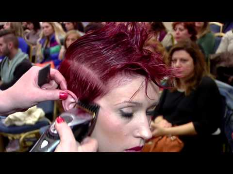 anastaziahair cosmetics 18th balkan festival of hairdressing and make up